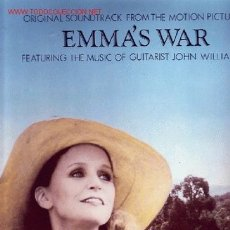 Discos de vinilo: EMMAS WAR DISCO LP BANDA SONORA MUSICA JOHN WILLIAMS. Lote 20195731