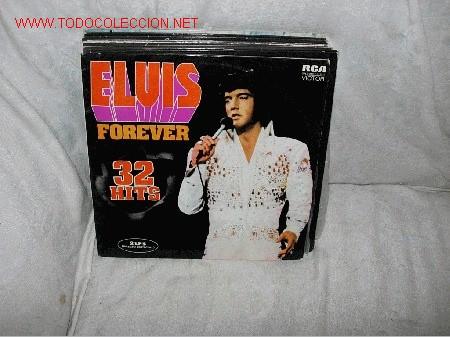 ELVIS PRESLEY 2LP´S 32 HITS FOREVER (Música - Discos - LP Vinilo - Rock & Roll)