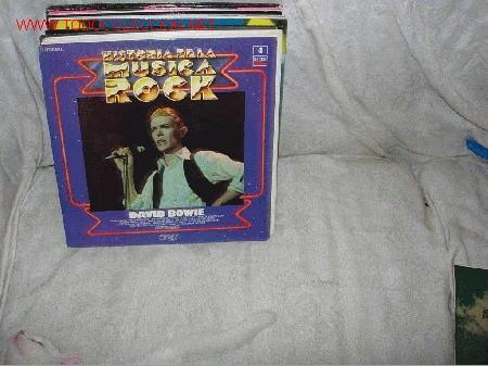 DAVID BOWIE HISTORIA DE LA MÚSICA ROCK LP (Música - Discos - LP Vinilo - Rock & Roll)