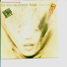 Discos de vinilo - The Rolling Stones.Single de 1973.Angie-Silver train - 5029425