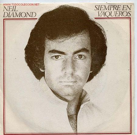 NEIL DIAMOND (Música - Discos de Vinilo - Singles - Pop - Rock Extranjero de los 80)