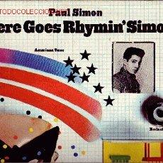 Discos de vinilo - PAUL SIMON DISCO LP PORTADA DOBLE CON LETRA DE CANCIONES - 10009169