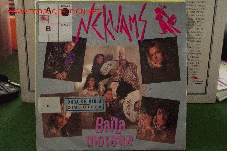 NEKUAMS - BAILA MORENA (Música - Discos - Singles Vinilo - Techno, Trance y House)