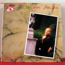 Discos de vinilo: JEAN RICH ( 'LADY' JEAN RICH ) 1986 LP33. Lote 1579541