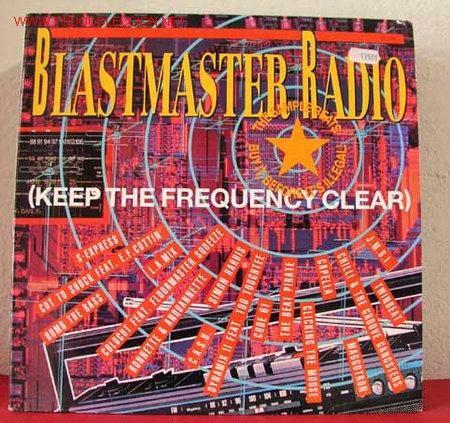 BLASTMASTER RADIO ( S-EXPRESS, COLDCUT FEAT, THE BEAT PIRATE, C.A.S.H., SIMON HARRIS, CODE 81, (Música - Discos - LP Vinilo - Disco y Dance)