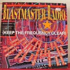 Discos de vinilo: BLASTMASTER RADIO ( S-EXPRESS, COLDCUT FEAT, THE BEAT PIRATE, C.A.S.H., SIMON HARRIS, CODE 81,. Lote 1580210