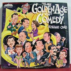 Discos de vinilo: THE GOLDEN AGE OF COMEDY VOLUME ONE ( 20 HILARIOUS SELECTIONS ) NEW YORK-1972 . Lote 1583180