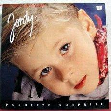 Discos de vinilo: JORDY ( POCHETTE SURPRISE ) MADRID-1992 LP33. Lote 1596088