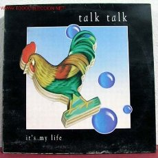 Discos de vinilo: TALK TALK ( IT'S MY LIFE ) SPAIN-1990 MAXISINGLE 45RPM. Lote 1596156