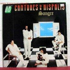 Discos de vinilo: CANTORES DE HISPALIS ( SANGRE ) SPAIN-1989 LP33. Lote 1596281