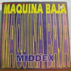Discos de vinilo: MIDDEX ( MAQUINA BAJA ''TRES VERSIONES'' - ALI-CANTÉ ) SPAIN-1993 MAXISINGLE 45RPM. Lote 1596316