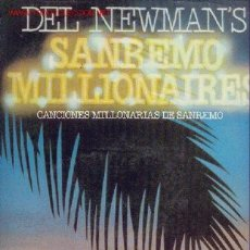 Discos de vinilo: DEL NEWMAN'S - CANCIONES DEL FESTIVAL DE SAN REMO 12 TEMAS. Lote 23928011