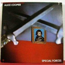 Discos de vinilo: ALICE COOPER ( SPECIAL FORCES ) USA-1981 LP33. Lote 1618330