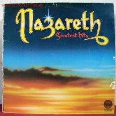 Discos de vinilo: NAZARETH ( GREATEST HITS ) ENGLAND - 1975 LP33. Lote 1620599