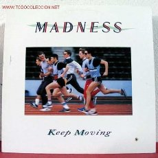 Discos de vinilo: MADNESS ( KEEP MOVING ) 1984 LP33. Lote 1620675