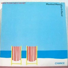 Discos de vinilo: MANFRED MANN'S EARTH BAND ( CHANCE ) USA - 1980 LP33 WARNER BROS RECORDS. Lote 1622642