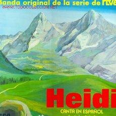 Discos de vinilo: HEIDI - BANDA ORIGINAL DE LA SERIE DE TVE, CAPITULOS 3,4 Y 5. Lote 23995553