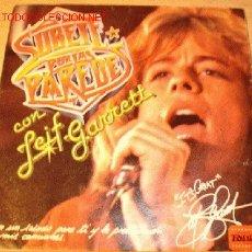 Disques de vinyle: DISCO SINGLE FLEXIBLE OBSEQUIO PUBLICIDAD DE DEPORTIVOS PAREDES - LEIF GARRET - AÑOS 80. . Lote 46694472