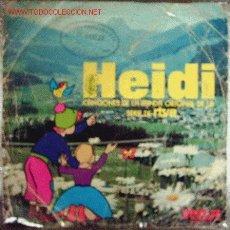 Discos de vinilo: HEIDI. Lote 7249577