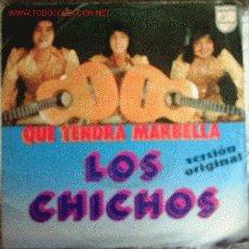 Discos de vinilo: LOS CHICHOS. Lote 27621353