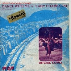 Discos de vinilo: RITCHIE FAMILY. Lote 1668663