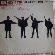 Discos de vinilo: THE BEATLES-HELP!-EP. Lote 16669568