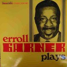 Discos de vinilo: ERROLL GARNER PLAYS. Lote 19825068