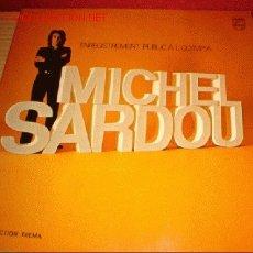 Discos de vinilo: DISCO LP DE MICHEL SARDOU -LE RIRE DU SERGENT- AÑO 1971.. Lote 1689023