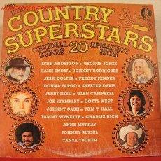 Discos de vinilo: COUNTRY SUPERSTARS '' LYNN ANDERSON, CHARLIE RICH, ANNE MURRAY, FREDDY FENDER, GLEN CAMPBELL... ). Lote 1690037