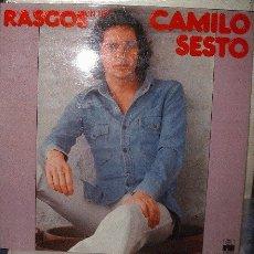Discos de vinilo: CAMILO SESTO RASGOS. Lote 7429195