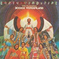 Discos de vinilo: UXV EARTH WIND & FIRE WITH THE EMOTIONS - (NUEVO SIN USAR Y ACOMPAÑADO DE NOTA DE LA DISTRIBUIDORA). Lote 26660716