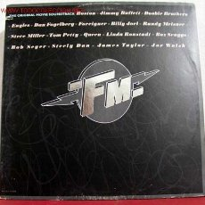Discos de vinilo: FM 'BOSTON, JIMMY BUFFETT, DOOBIE BROTHERS,EAGLES,STEVE MILLER, JOE WALSH, ...' 1978 LP33 DOBLE. Lote 1703005