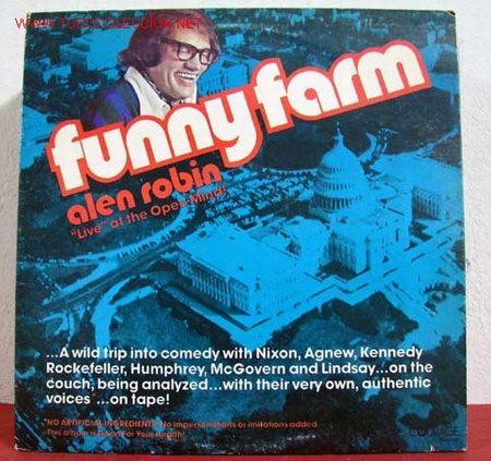 FUNNY FARM FEATURING ALEN ROBIN ( VOICES RICHARD NIXON, NELSON ROCKEFELLER, HUBERT HUMPHREY,TED (Música - Discos - LP Vinilo - Otros estilos)