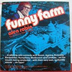 Discos de vinilo: FUNNY FARM FEATURING ALEN ROBIN ( VOICES RICHARD NIXON, NELSON ROCKEFELLER, HUBERT HUMPHREY,TED. Lote 1706739