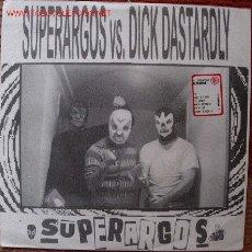 Discos de vinilo: SUPERRARGOS + DICK DASTARDLY DISCOS JS. Lote 26940805
