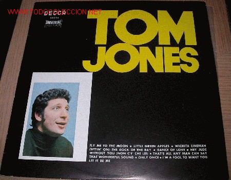 TOM JONES (Música - Discos - LP Vinilo - Cantautores Extranjeros)
