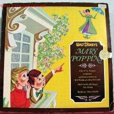 Discos de vinilo: MARY POPPINS ' WALT DISNEY'S' 1972 LP33. Lote 1714222