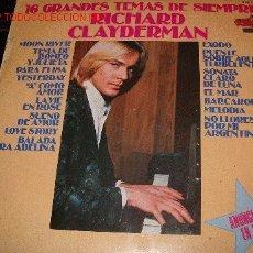 Discos de vinilo: RICHARD CLAYDERMAN. Lote 1718170