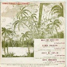 Disques de vinyle: MANOLO ARANDA / BAJO UN COCOTERO / DIOSA EVANILU. Lote 1720525