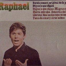 Discos de vinilo: RAPHAEL DISCO LP BANDA SONORA ORIGINAL. Lote 18854339