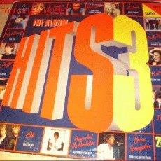 Discos de vinilo: ALBUM CON DOS DISCOS LP - HITS 3 - AÑO 1995. . Lote 1726178