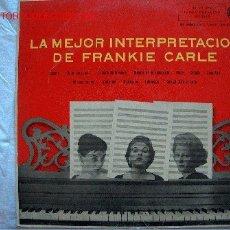 Discos de vinilo: LP-FRANKIE CARLE-LA MEJOR INTRPRETACION DE FRANKIE CARLE. Lote 7372397