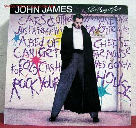 JOHN JAMES ( SHE BOUGHT LOVE ) 1988 LP33 (Música - Discos - LP Vinilo - Disco y Dance)