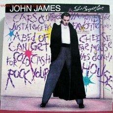 Discos de vinilo: JOHN JAMES ( SHE BOUGHT LOVE ) 1988 LP33. Lote 1733551