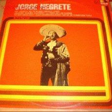 Discos de vinilo: DISCO LP JORGE NEGRETE - AY JALISCO NO TE RAJES -. AÑO 1978. . Lote 1739836