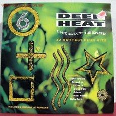 Discos de vinilo: DEEP HEAT 6 'THE SIXTH SENSE' (TECHNOTRONIC, ANNA G, ADEVA, LIAZ, PATTI DAY, DIONNE...). Lote 1742140