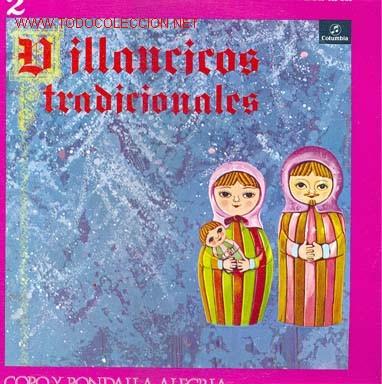 VILLANCICOS TRADICIONALES, UNA PANDERETA SUENA / VAN LOS PASTORES / ARRE BORRIQUILLO / LAS BELLAS... (Música - Discos - LP Vinilo - Otros estilos)