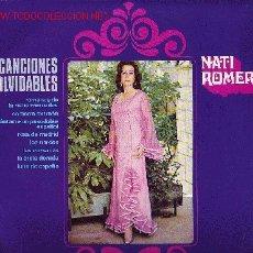Discos de vinilo: NATI ROMERO DISCO DE 25 CM 10 PULGADAS SELLO ORLADOR. Lote 17646647