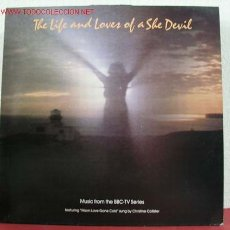 Discos de vinilo: THE LIFE AND LOVES OF A SHE DEVIL ''MUSIC FROM THE BBC-TV SERIES'' 1986 LP33. Lote 1768976