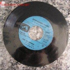 Discos de vinilo: JEAN CLAUDE PASCAL NOUS LES AMOUREUX - LE GARS DE N'IMPORTE OU SINGLE GANADOR EUROVISION 1961 . Lote 26797938